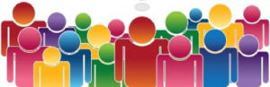 graphic representing group of people