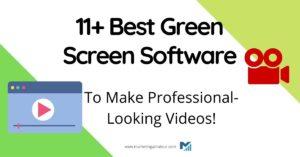 best green screen software